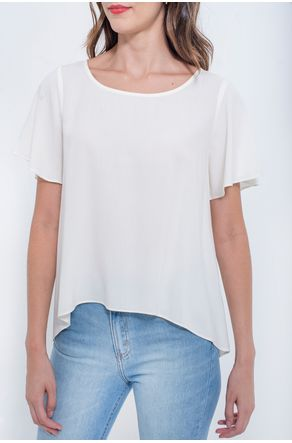 blusa-off-white-lisa-de-manga-curta-close-frente