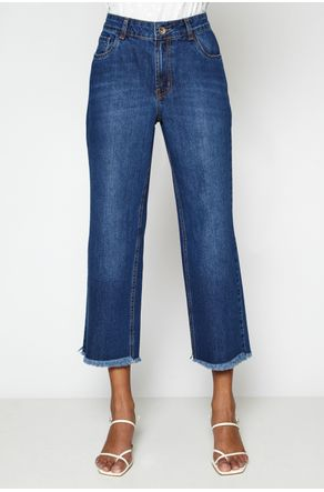 Calca-Jeans-Cropped-Com-Barra-Desfiada--close-frente