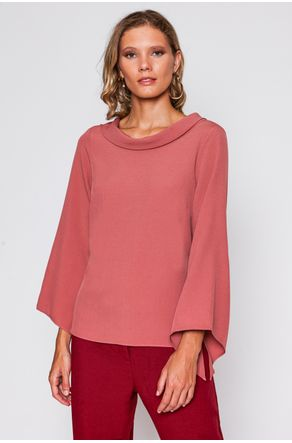 Blusa-Rose-Gola-Larga-Com-Amarracao-close-frente