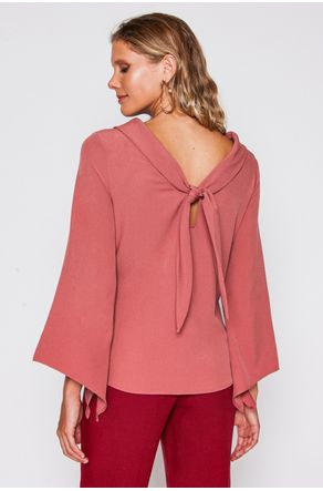 Blusa-Rose-Gola-Larga-Com-Amarracao-close-costas