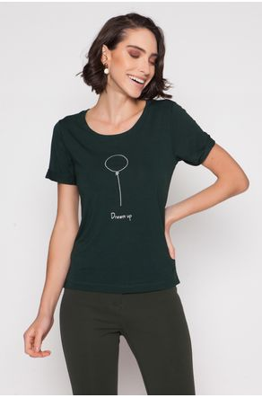 camiseta-verde-de-viscose-bordada-dream-up