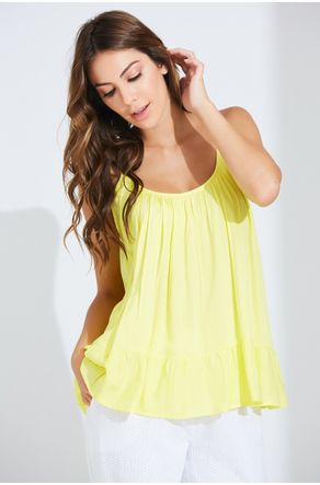 Regata-Amarelo-De-Viscose-Lisa-Close