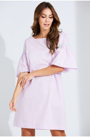 Vestido-Lilas-Manga-Flare-Close
