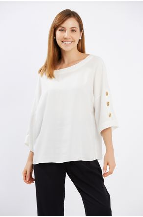 Blusa-Off-White-Com-Botoes-E-Vista-Nas-Costas-close-frente