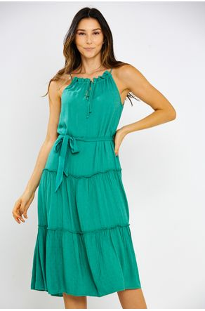 Vestido-Midi-Verde-Decote-Trapezio-Close