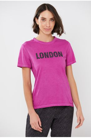 Blusa-Fuscia-Estampa-London-Floral-close-frente