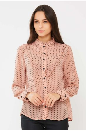 Camisa-Rosa-Estampada-Com-Babado-close-frente