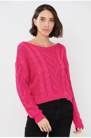 Tricot-Pink-Decote-Canoa-close-frente